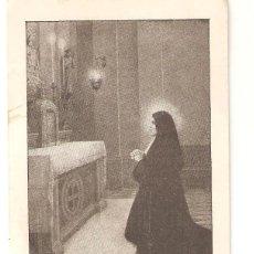 Postales: ESTAMPA TERESA DE JESUS JORNET E IBARS CON RELIQUIA. Lote 275642293