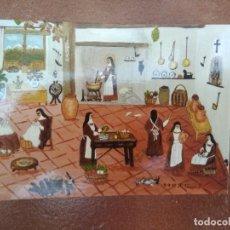Postales: POSTAL CARMELITAS, SANTA TERESA DE JESUS , DIOS ANDA ENTRE LOS PUCHEROS. Lote 275996343