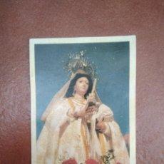 Postales: ESTAMPA VIRGEN DE LAS CANDELAS. Lote 275997008
