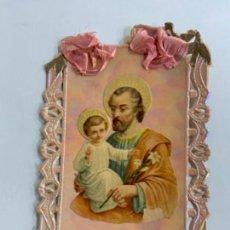Postales: ANTIGUA POSTAL RELIGIOSA DE PUNTILLA O FILIGRANA.. Lote 276644263