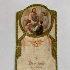 Postales: PRECIOSO RECORDATORIO PRIMERA COMUNIÓN.. Lote 276647613