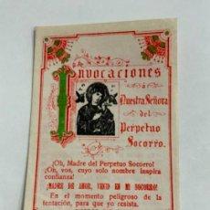 Postales: PRECIOSO RECORDATORIO RELIGIOSO.. Lote 276650493