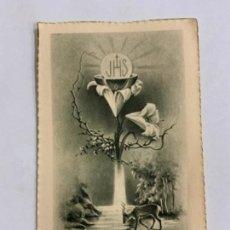 Postales: PRECIOSO RECORDATORIO RELIGIOSO.. Lote 276651268