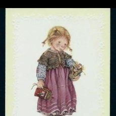 Cartes Postales: 7326B - LISI MARTIN - HERMOSO RECORDATORIO EDICIONES BUSQUETS 02.03.121.2 - RELIEVE - 11,5X7 CM. Lote 276819168