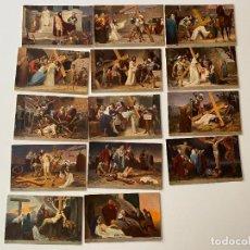 Postales: 14 POSTALES SERIE COMPLETA , GEBHARD FUGEL , M.H.. Lote 277626718