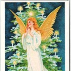 Postales: MERRY CHRISTMAS! ANGEL XMAS TREE RARE 1000 COPY RUSSIA POSTCARD. Lote 278720493