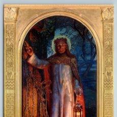 Postales: JESUS CHRIST THE LIGHT OF THE WORLD SAVIOR BY WILLIAM HUNT RUSSIAN NEW POSTCARD - WILLIAM HOLMAN HUN. Lote 278723248