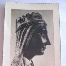 Postales: ESTAMPA TOMA DE HABITO - AIGUAFREDA BARCELONA 1955 - VIRGEN MONTSERRAT. Lote 278756278