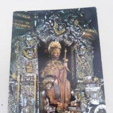 Postales: SANTIAGO DE COMPOSTELA - CATEDRAL - IMAGEN DEL SANTO APÓSTOL. Lote 278829198