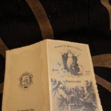 Postales: ANTIGUO DICTICO, CONGREGACIÓN DEL SANTO ANGEL DE LA GUARDA,CARABANCHEL ALTO. Lote 279476943