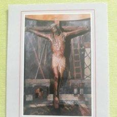 Postales: CASTILLO DE XABIER - Nº 51 - SANTO CRISTO - TALLA DE NOGAL DEL SIGLO XIII - ESCUDO DE ORO. Lote 279594503