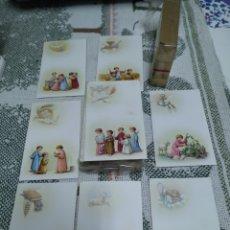 Postales: 2 TACOS DE RECORDATORIOS DE PRIMERA COMUNIÓN, AÑOS 60. Lote 280110388