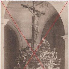 Cartoline: POSTAL SEMANA SANTA MÁLAGA LIBRERÍA RIVAS. DIFICIL. CRISTO BUENA MUERTE DE MENA. Lote 280418603