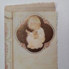 Cartes Postales: RECORDATORIO ESTAMPA COMUNIÓN - ¿MARÍA? - PAPEL VEGETAL - EDICIONES ORTIZ. Lote 287754893