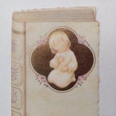 Cartes Postales: RECORDATORIO ESTAMPA COMUNIÓN - ¿MARÍA? - PAPEL VEGETAL - EDICIONES ORTIZ. Lote 287755263