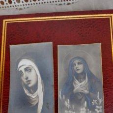Postales: 2 RECORDATORIOS MORTUORIA DE 1933 Y 1936. Lote 287870343