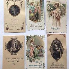 Postales: BARBASTRO AÑOS 20 / RECORDATORIOS DE 1ª COMUNIÓN / ESCUELAS PIAS - SAN VICENTE - MISIONEROS / HUESCA. Lote 288037998