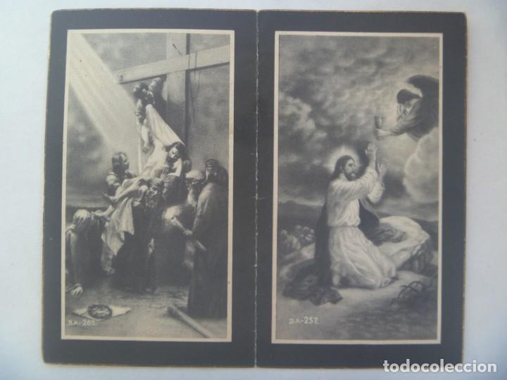 RECORDATORIO SEÑORITA FALLECIDA EN 1948, CAMARISTA MAYOR CONGRAGACION HH. MARIA Y S. TERESA, AVILA (Postales - Postales Temáticas - Religiosas y Recordatorios)