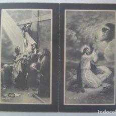 Postales: RECORDATORIO SEÑORITA FALLECIDA EN 1948, CAMARISTA MAYOR CONGRAGACION HH. MARIA Y S. TERESA, AVILA. Lote 288544403