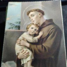 Postales: POSTAL * SAN ANTONIO DE PADUA * C Y Z - 1960. Lote 288681693