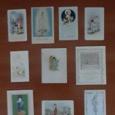 Postales: 10 POSTALES RECUERDO PRIMERA COMUNIÓN ANTIGUAS . VER FOTOS Y DESCRIPCIÓN.. Lote 288986913