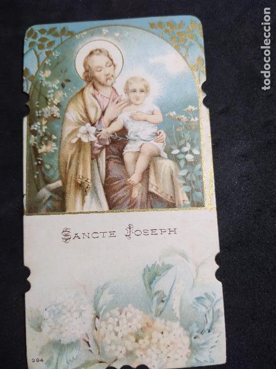 ESTAMPA * SANCTE JOSEPH * (Postales - Postales Temáticas - Religiosas y Recordatorios)