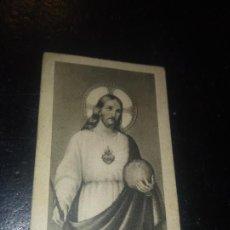 Postales: ANTIGUA ESTAMPA RELIGIOSA 19 ¡OH! REY PACIFICO PACIFICAR EL MUNDO. Lote 290110578