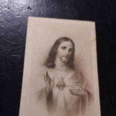 Postales: ANTIGUA ESTAMPA RELIGIOSA SAGRADO CORAZON DE JESUS Nº1098. Lote 290117173