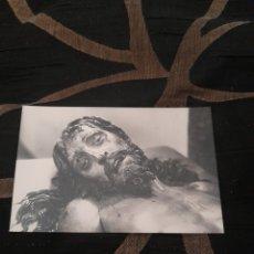 Postales: ANTIGUA POSTAL FOTOGRAFÍCA CRISTO YACENTE. Lote 292348848