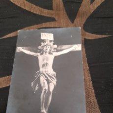 Postales: ANTIGUA POSTAL FOTOGRAFÍCA, SANTO CRISTO DE LA AGONÍA DE LIMPIAS. Lote 292354078