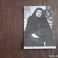 Postales: ESTAMPA RELIGIOSA, CAYETANA ALBERTA GIMENEZ, FUNDADORA DEL INSTITUTO DE LA PUREZA DE MARÍA.. Lote 293835398