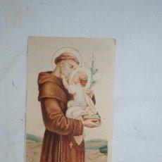 Postales: SAN ANTONIO DE PADUA , PILDORAS DEL DR. ROSS .. Lote 295381428