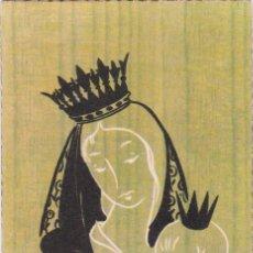 Postales: ANTIGUA ESTAMPA RECORDATORI PRIMERA COMUNIÓ - POBLA DE SEGUR - 1959. Lote 295512008
