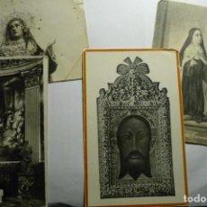 Postales: LOTE POSTALES Y TARJETAS RELIGIOSAS -2 ESCRITAS. Lote 295513648