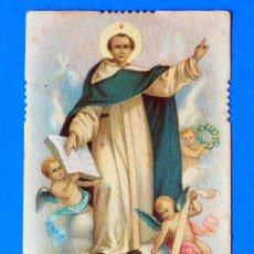 Postales: ESTAMPA RELIGIOSA. SANCTUS VINCENTIUS FERRERI. PRINTED IN ITALY. Lote 295525508