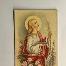 Postales: SANTA LUCIA. POSTAL NO.30, EDIC.. ES 30…., (H.1940?) S/C. Lote 295742973