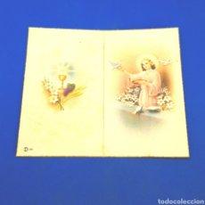 Postales: (RM.1) CROMO O ESTAMPA RELIGIOSA. PRIMERA COMUNIÓN. Lote 295795708