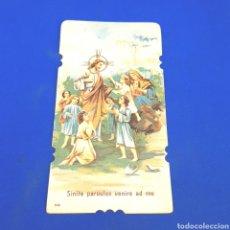 Postales: (RM.1) CROMO O ESTAMPA RELIGIOSA.. Lote 295796283