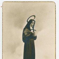 Postales: ESTAMPA RELIGIOSA MILAGROSA SANTA RITA DE MONACHIL.. Lote 296577908