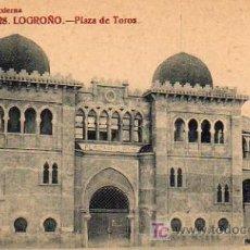Postales: LOGROÑO - PLAZA DE TOROS. Lote 5802553