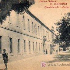 Postales: LOGROÑO - CUARTELES DE INFANTERIA . Lote 5802790