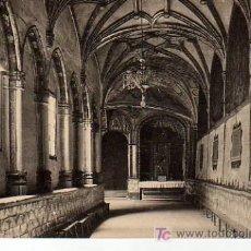 Postales: POSTAL DE LOGROÑO -CLAUSTRO DE LA IGLESIA-IMPERIAL DE SANTA MARIA DE PALACIO. Lote 21181173