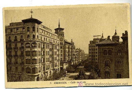 ZARAGOZA . CALLE DE COSTA - ED. ARRIBAS (Postales - España - La Rioja Antigua (hasta 1939))