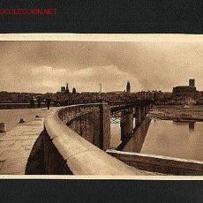 Postales: POSTAL DE LOGROÑO (LA RIOJA): PUENTE DE HIERRO (EXCL.LC). Lote 1816021