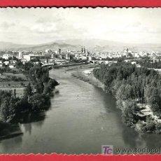 Cartoline: LOGROÑO, VISTA GENERAL Y RIO EBRO, P32701. Lote 16329476