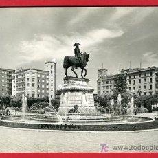 Cartoline: LOGROÑO, MONUMENTO A ESPARTERO Y FUENTE, P32704. Lote 16329499