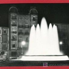 Cartoline: LOGROÑO, NOCTURNA, PLAZA MARQUES DE MURRIETA Y FUENTE MONUMENTAL, P32709. Lote 16329583