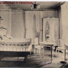 Postales: LOGROÑO(LA RIOJA).-GRAN HOTEL.-UNO DE LOS GABINETES DE LUJO. Lote 18591125