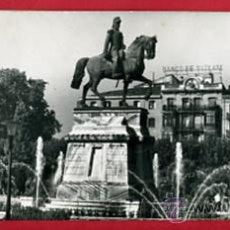 Postales: LOGROÑO ESTATUA DEL GENERAL ESPARTERO ,POSTAL DOBLE, H. Lote 289403153