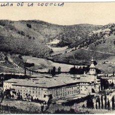 Postales: RARA POSTAL - SAN MILLAN DE LA COGOLLA - LA RIOJA - VISTA S.E. DEL MONASTERIO - AL FONDO SUSO. Lote 26226473